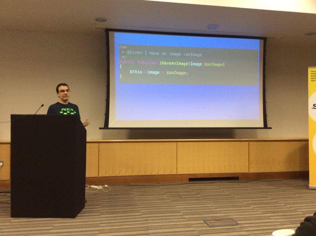 Speaking at Inviqa Dev Day February 2015 about Modelling by Example
